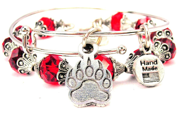Engraved Paw With Claws 2 Piece Collection