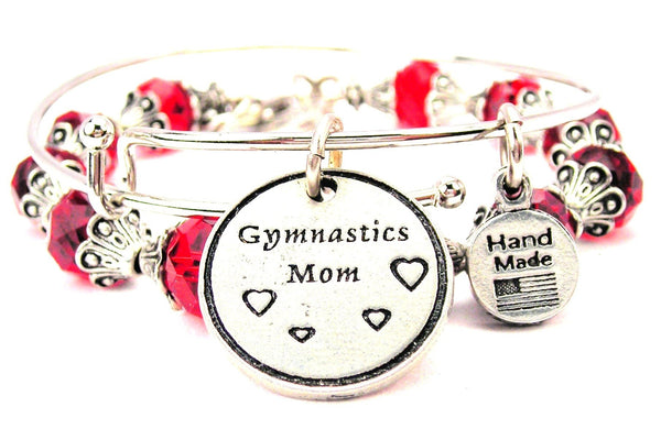 Gymnastics Mom Circle 2 Piece Collection