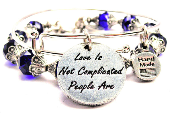 Love Is Not Complicated People Are 2 Piece Collection
