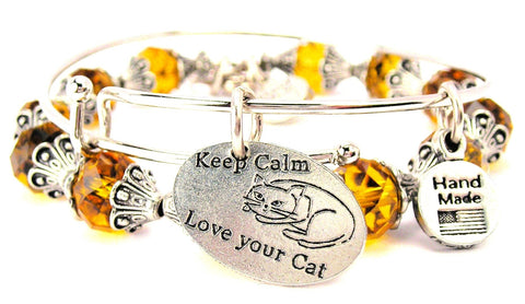 Keep Calm And Love Your Cat 2 Piece Collection