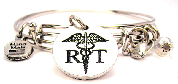 medical bracelet, occupation jewelry, therapist bracelet, respitory bracelet