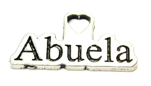 Abuela Grandmother Genuine American Pewter Charm