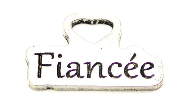 Fiancée Genuine American Pewter Charm