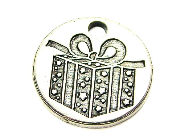 A Gift For You Genuine American Pewter Charm