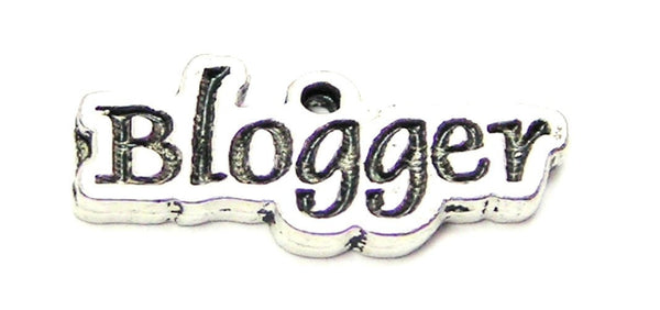 Blogger Genuine American Pewter Charm
