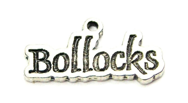 Bollocks Genuine American Pewter Charm