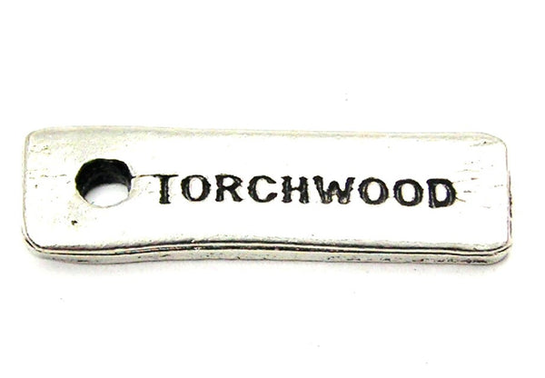 Torchwood Genuine American Pewter Charm