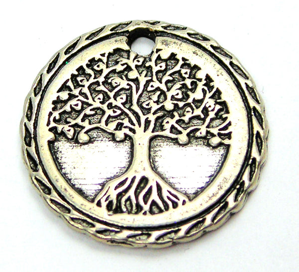 Tree Of Life Genuine American Pewter Charm