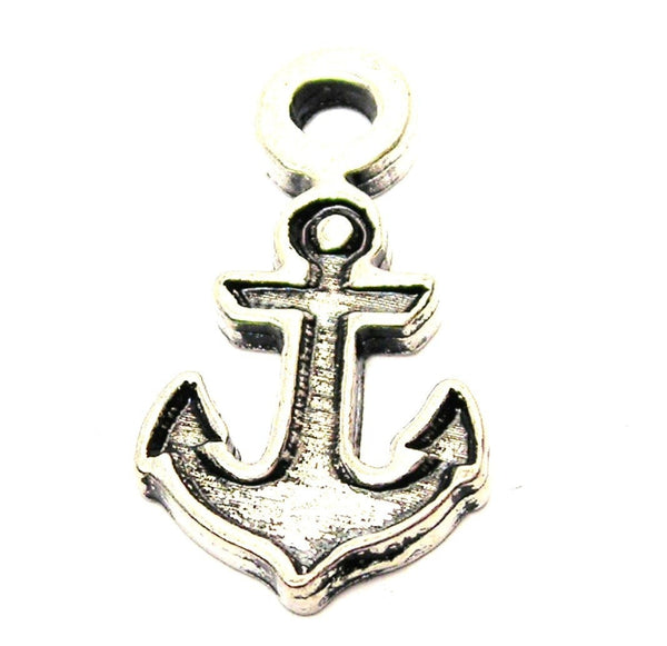 Boat Anchor Genuine American Pewter Charm
