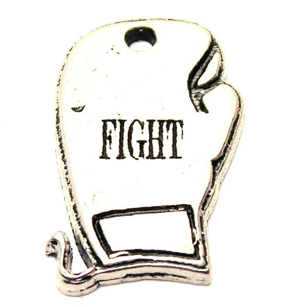Fight Boxing Glove Genuine American Pewter Charm