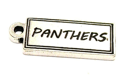 Panthers Tab Genuine American Pewter Charm