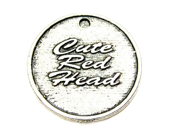 Pewter Charms, American Charms, Charms for bangles, charms for necklaces, charms for jewelry, red hair charms, beauty charms