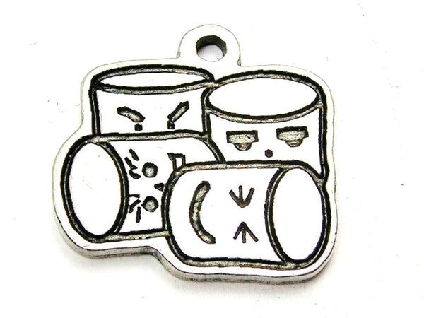 Kawaii Marshmallows Genuine American Pewter Charm