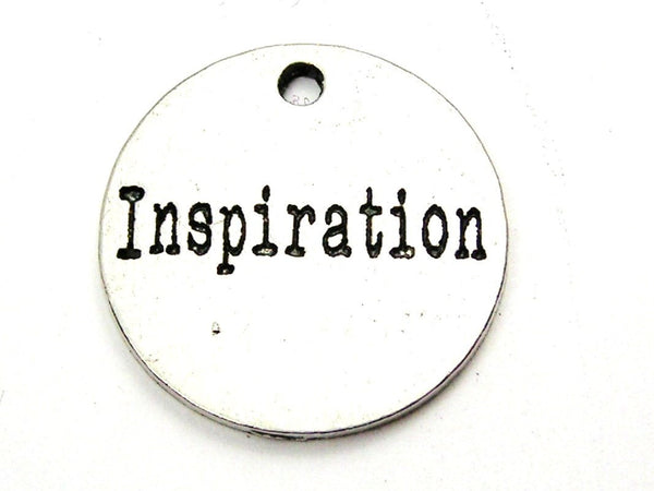 Inspiration Genuine American Pewter Charm