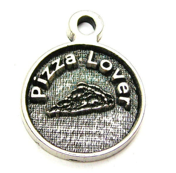 Pizza Lover Genuine American Pewter Charm