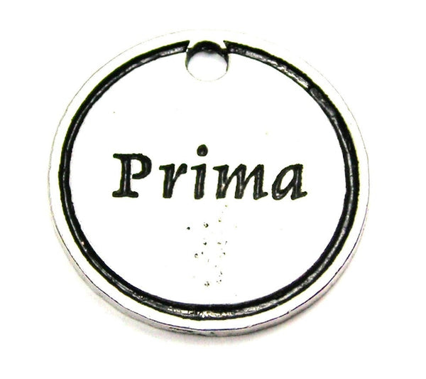 Prima Cousin Genuine American Pewter Charm