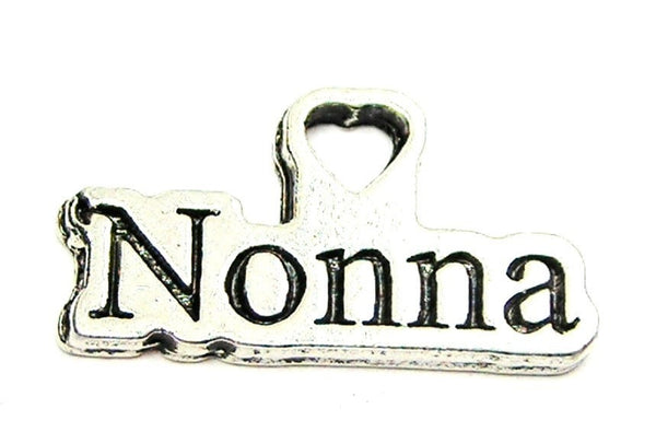 Nonna Italian Grandmother Genuine American Pewter Charm