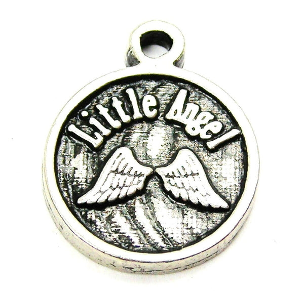Little Angel Genuine American Pewter Charm