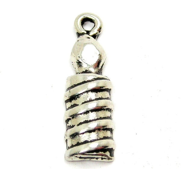 Birthday Candle Genuine American Pewter Charm