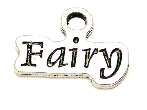 Fairy Stylized Genuine American Pewter Charm