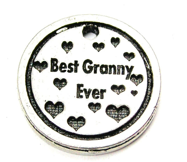 Best Granny Ever Genuine American Pewter Charm