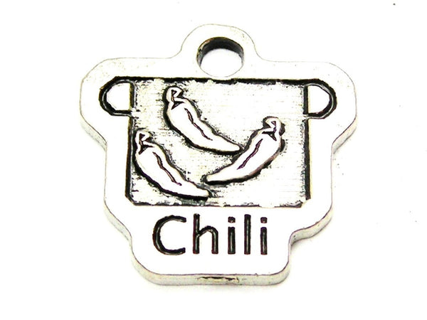 Chili Pot Genuine American Pewter Charm