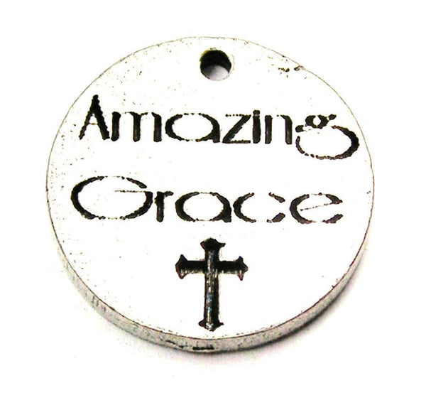 Amazing Grace Genuine American Pewter Charm