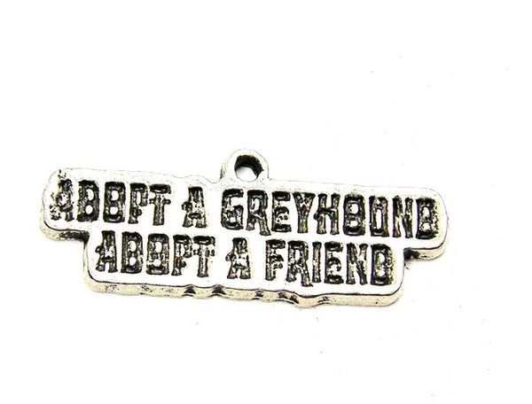 Pewter Charms, American Charms, Charms for bangles, charms for necklaces, charms for jewelry, greyhound adoption charms, rescue charms