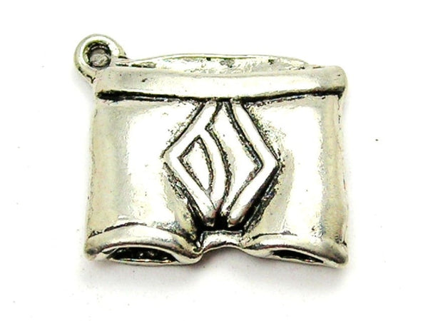 Mens Boxer Briefs Genuine American Pewter Charm