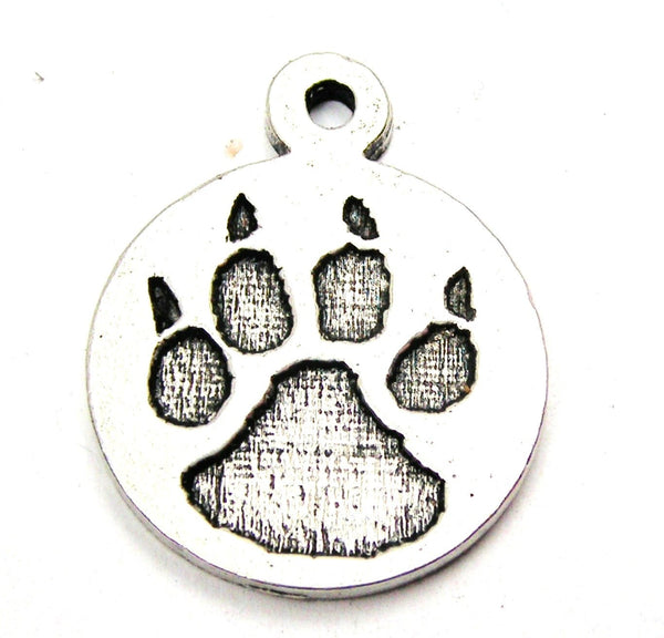Pewter Charms, American Charms, Charms for bangles, charms for necklaces, charms for jewelry, animal charms, rescue charms, paw print charms