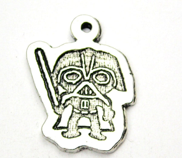 Darth Vader Genuine American Pewter Charm