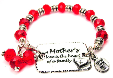 mother bracelet, mothers love bracelet, love bracelet, family bracelet, mother child love bracelet