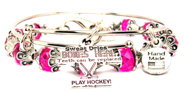 Sweat Dries Bones Heal Teeth Can Be Replaced Play Hockey 2 Piece Collection