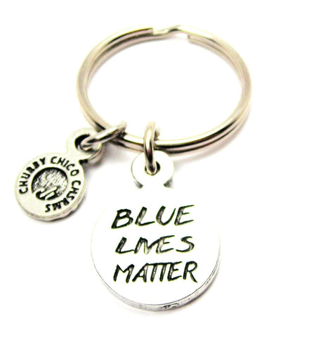 Blue Lives Matter Key Chain