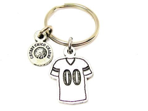"Football Jersey Choose Your Number - 1"" Key Chain"