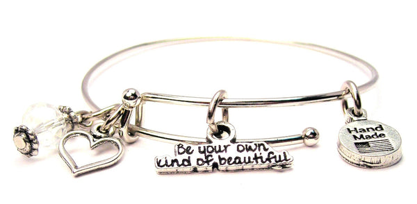 Be Your Own Kind Of Beautiful Bangle Bracelet