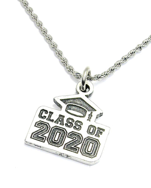 Class of 2020 Rope chain necklace