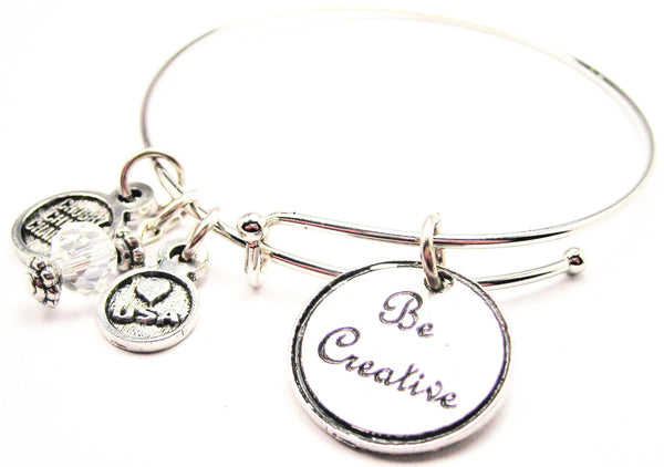 Be Creative Bangle Bracelet