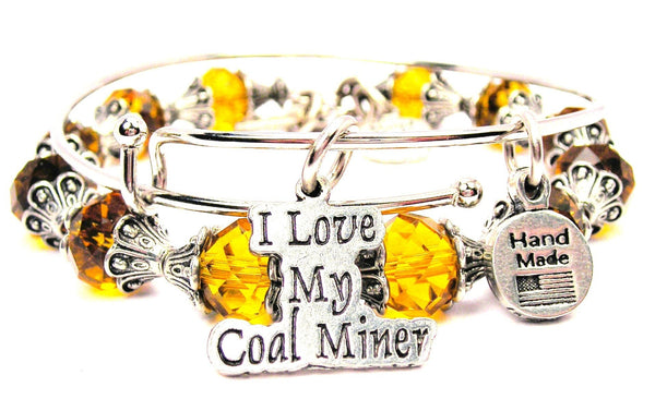 I Love My Coal Miner 2 Piece Collection