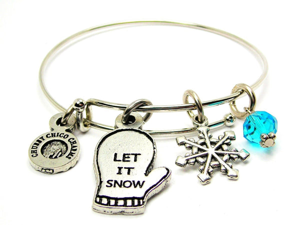 Let It Snow Catalog Single Stacker