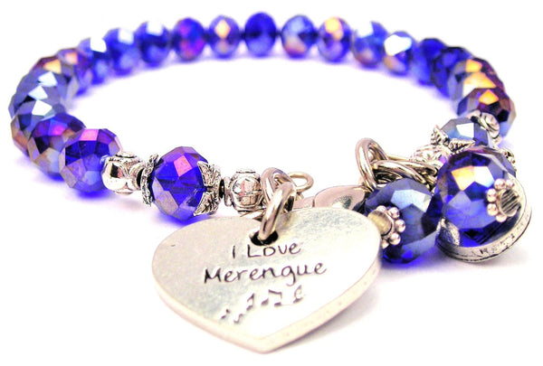I Love Merengue Splash Of Color Crystal Bracelet