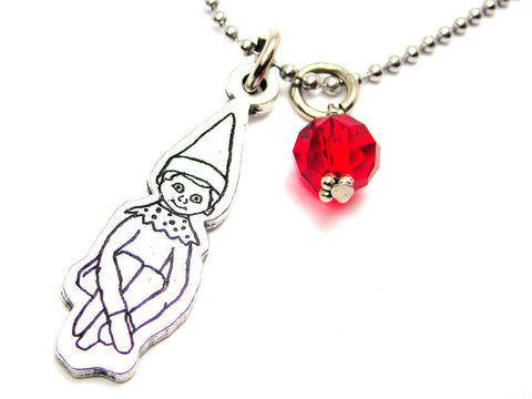 Large Shelf Elf Necklace