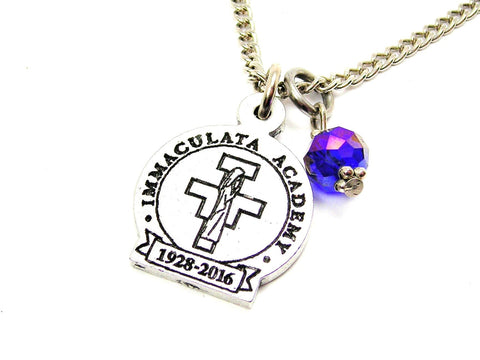 "Immaculata Academy 18"" Necklace"