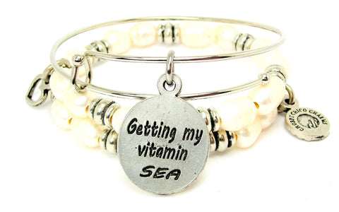Getting My Vitamin Sea Fresh Water Pearls Expandable Bangle Bracelet Set