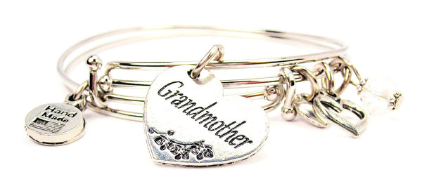 grandmother bracelet, grandmother jewelry, grandma bracelet, love bracelet, family member jewelry