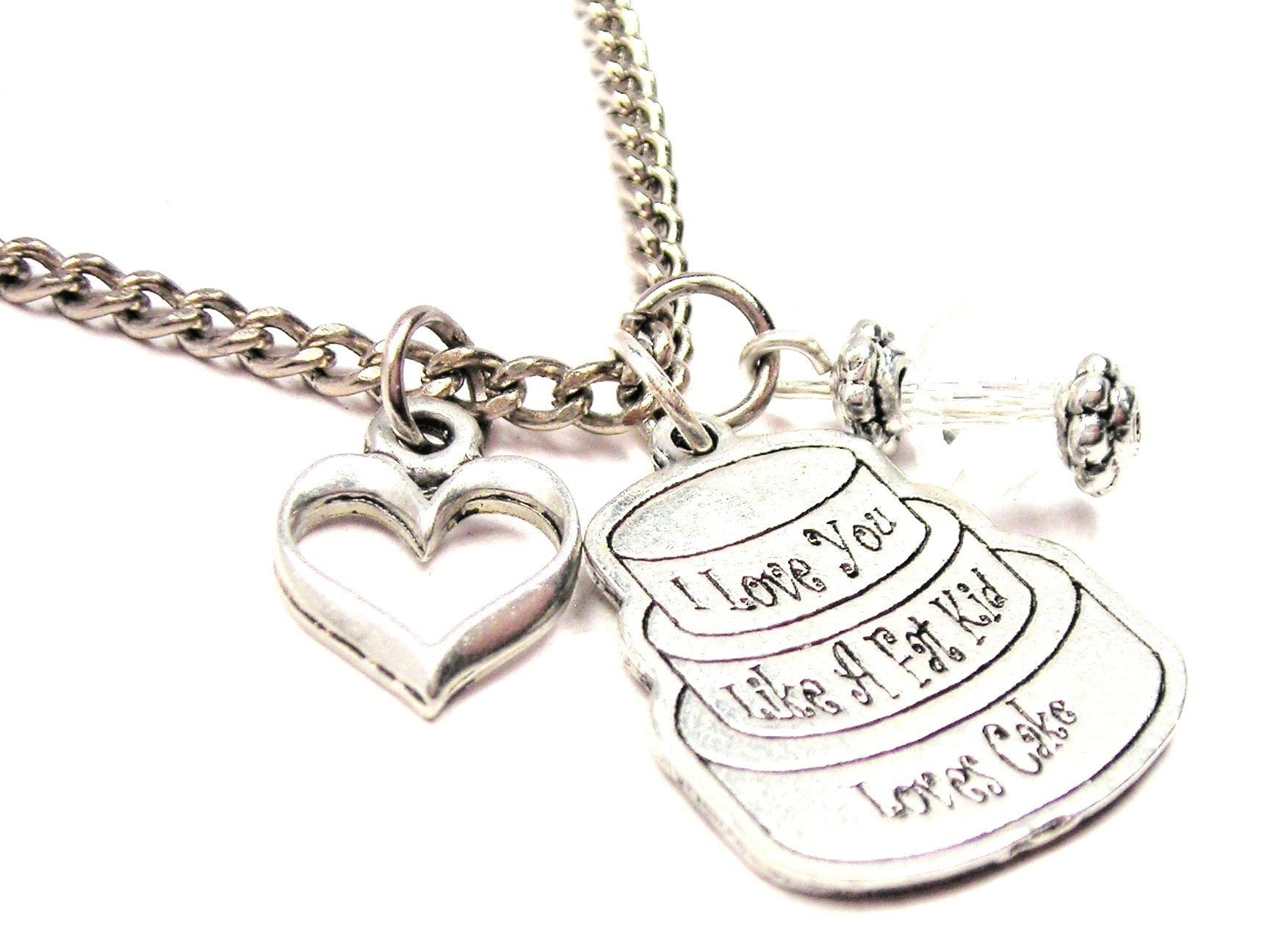 ChubbyChicoCharms A Police Officer Arrested My Heart And Crystal 18 Necklace