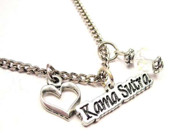 Kama Sutra Necklace with Small Heart