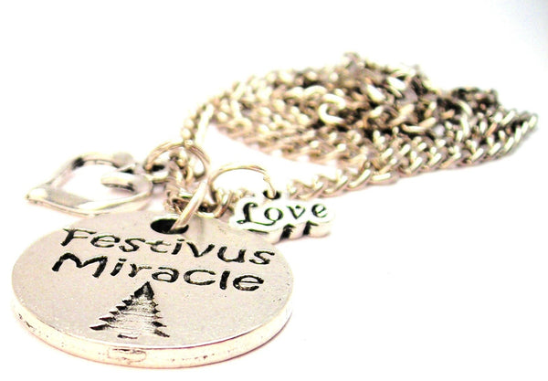 Festivus Miracle Little Love Necklace