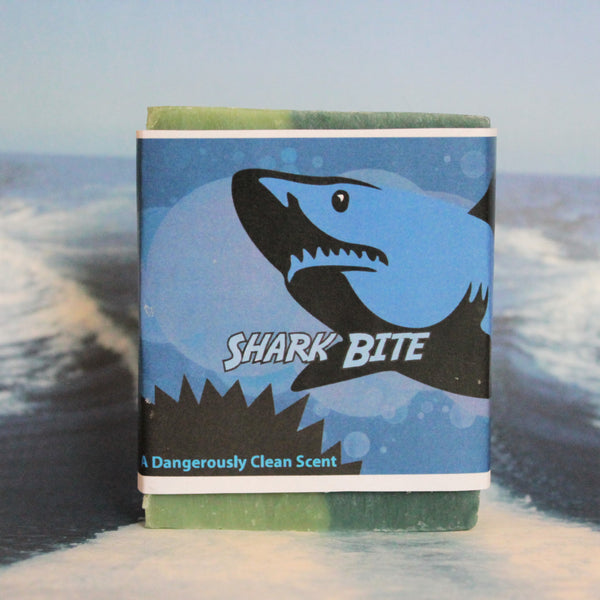 Shark Bite Hand Made Kid's Soap Collection