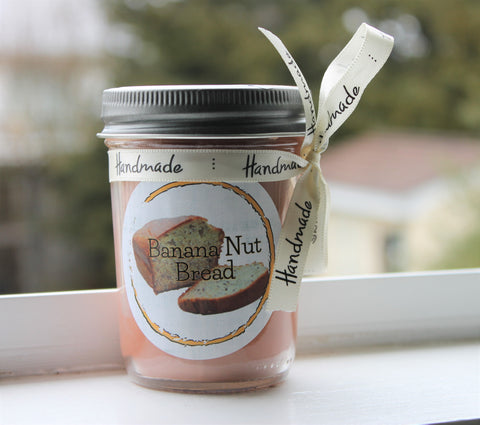 Banana Nut Bread Scented Soy Candle